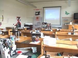 Bernina technical training room