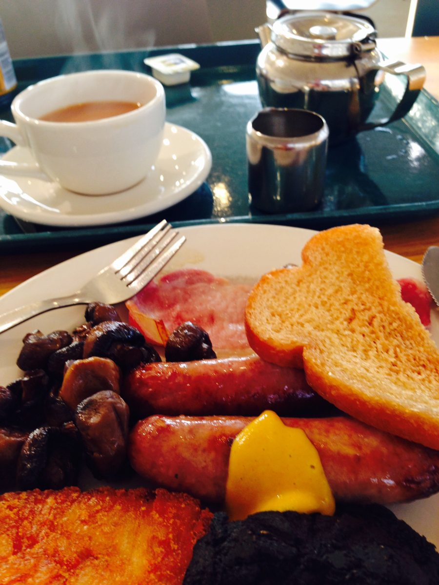 Breakfast at Tebay Services