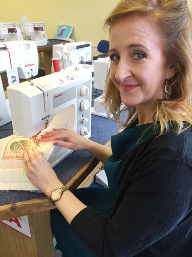 Jennine-with-Bernina-1008S-sewing-machine