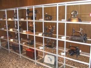 Bernina Sewing Machines at the Bernina Museum