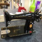 Vintage Singer Sewing Machine at Bambers
