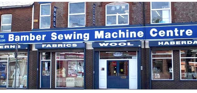 Bamber Sewing Machines Manchester